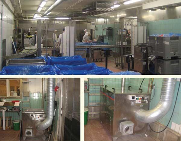 Осушитель воздуха для мясной промышленности