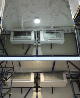 осушитель воздуха в морозильном складе