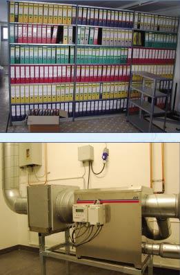 Осушитель воздуха адсорбционный для архивного и музейного хранения