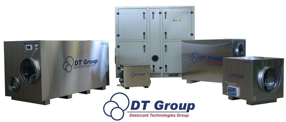 Промышленный осушитель воздуха Desiccant Technologies Group