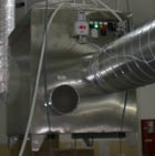 Осушитель воздуха MDC3000 на линии обертки конфет