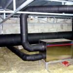 Сорбционный осушитель воздуха для молокозавода