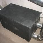 Сорбционный осушитель воздуха для неотапливаемого склада